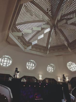 Plafond de style Art Déco